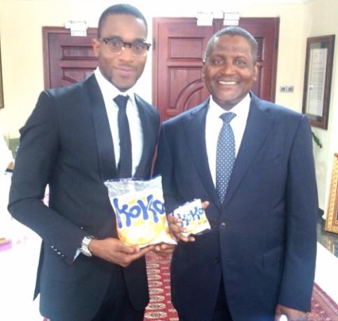 Africa's richest man Aliko Dangote endorses D'banj's Koko Garri1