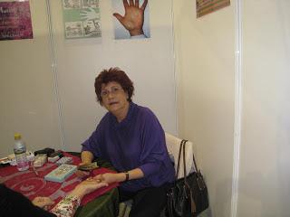 Foro Ciencias Ocultas de Pamplona lectura de manos Maria Luisa Martin Vargas