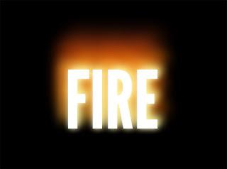 CSS3:Ateş yazı efekti