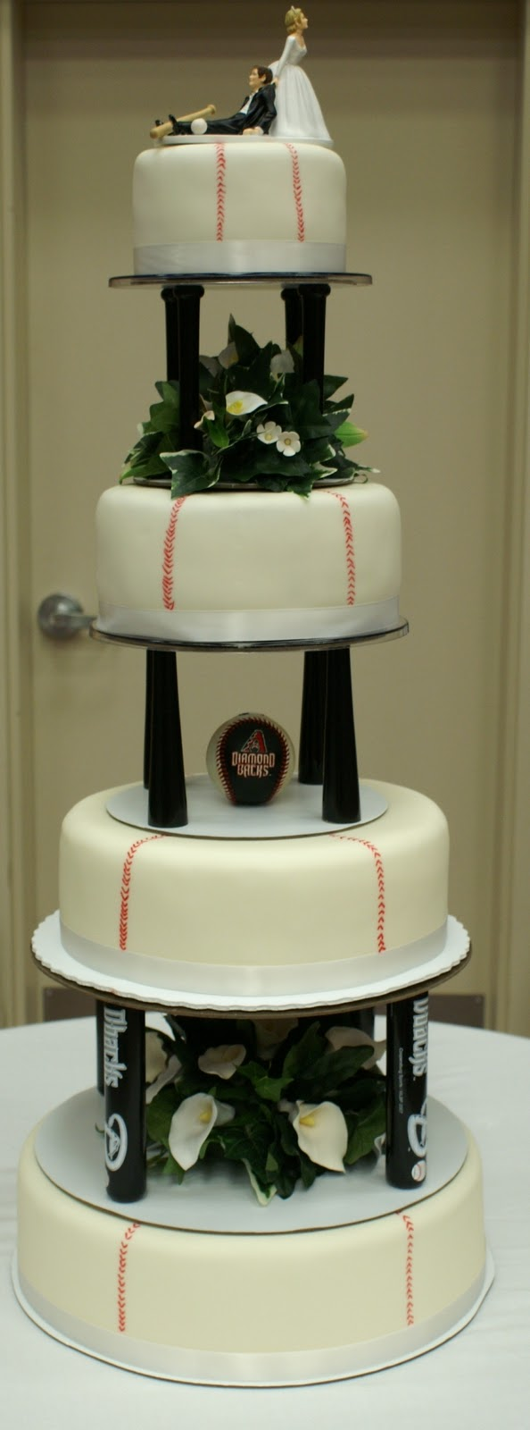 Pace Of Cakes Baseball Theme Wedding Cake