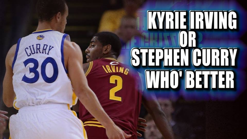 Kyrie Irving or Stephen Curry who' better. #cavs #warriors #nba #nba2015 #KyrieIrving #StephenCurry