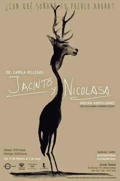 """Nueva temporada de """"Jacinto y Nicolasa"""" de Camila Villegas en Círculo Teatral"""