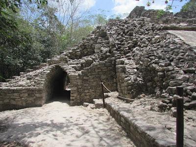 Mexico - Cobá, Observatorio astronómico de Cobá - México, Pirámide de Nohoch Mul - Cobá, Juego de Pelota - Cobá - México,