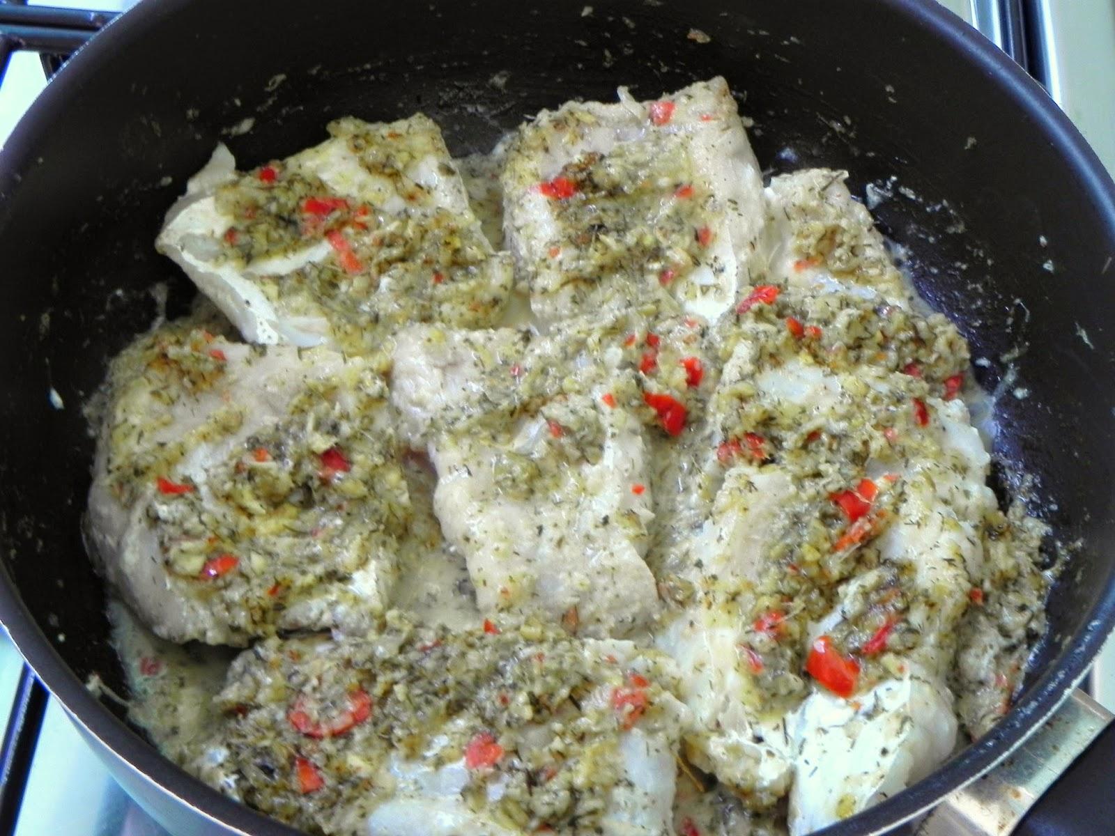 receita de peixe cozido