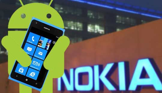 when will nokia release android based mobile phone?