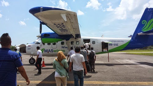 Terbang bersama Mas Wings Twin Otter, harga tiket Mas Wings Twin Otter, gambar Mas Wings Twin Otter, penumpang Mas Wings Twin Otter