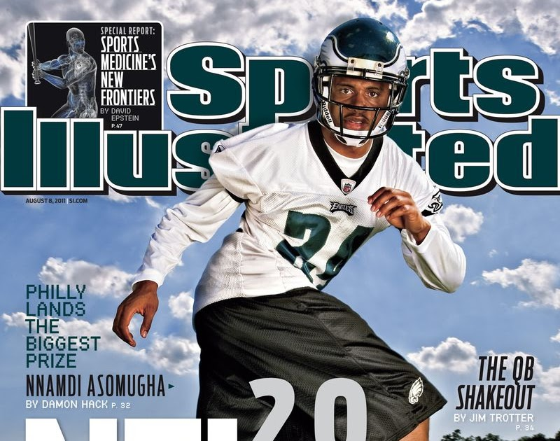 All Things Philly Sports: Nnamdi Asomugha on the cover of Sports Illustrated
