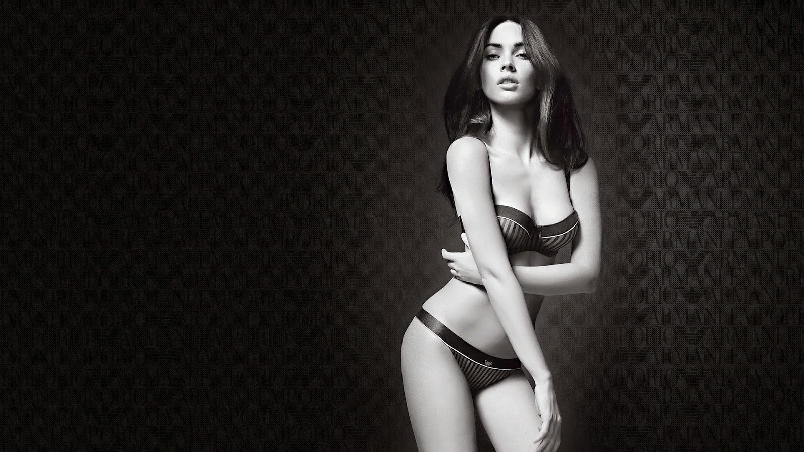 Beauty Megan Fox Bikini Black and White HD Wallpapers. Megan Fox Bikini Black and White Photos on http://1styahoo.blogspot.com/.