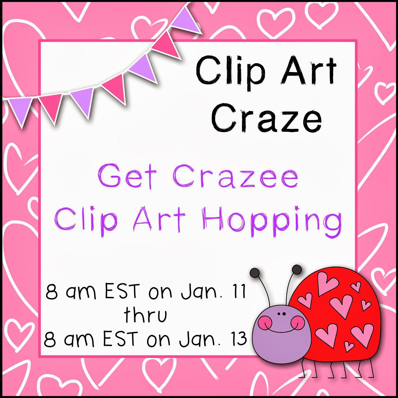 16 Clip Art Clip art craze facebook hop