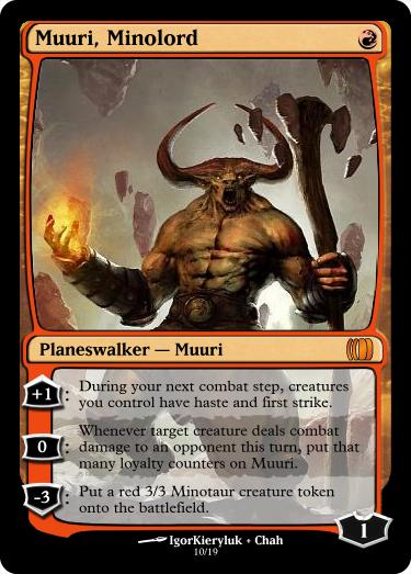 Goblin Artisans: Weekend Art Challenge Review 080813 ... Planeswalker Activated Ability