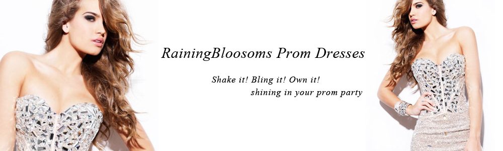 Raining Blossoms Prom Dresses
