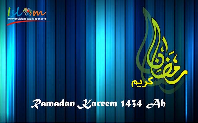Selamat ibadah puasa Ramadan 2013 1434 h