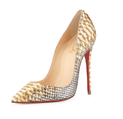 Christian Louboutin So Kate Pumps in python