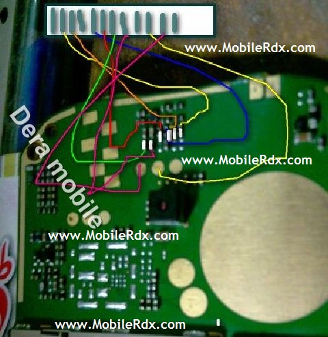 Here Are Nokia 110 Lcd Track Ways Jumper Solution. Please Observe
