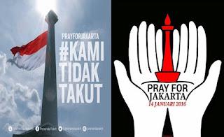 DP BBM Kami Tidak Takut Teroris Bom Sarinah #PrayForJakarta