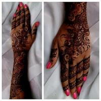 mehndi design templates