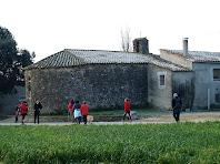 La façana nord de Sant Jaume de Rifà