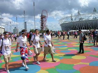 London 2012 Olympics - Olympic Park Floor