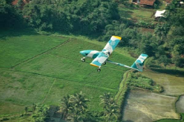 Serpihan pesawat tanpa awak Wulung PA 9 ditemukan di Nusakambangan