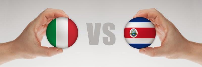 Italia 0 - 1 Costa Rica. Grupo D