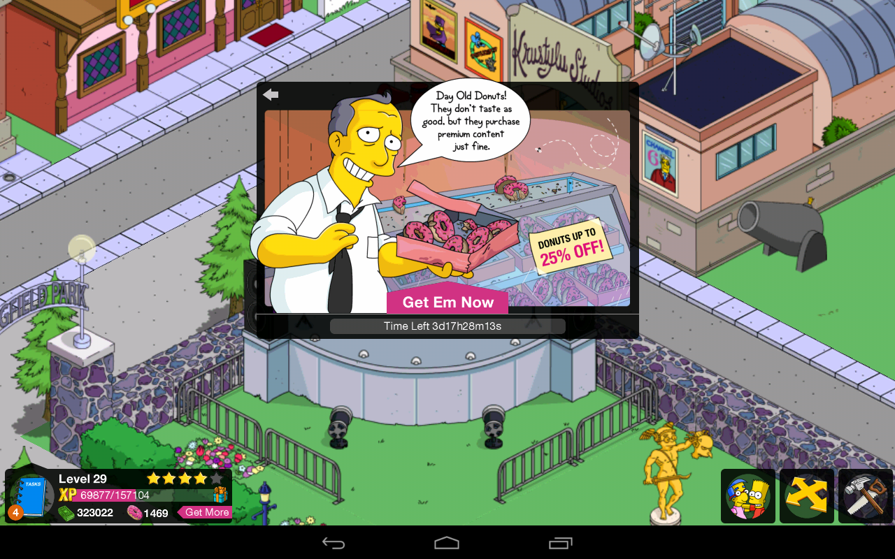 simpsons tapped out kindle update problems the simpsons tapped out