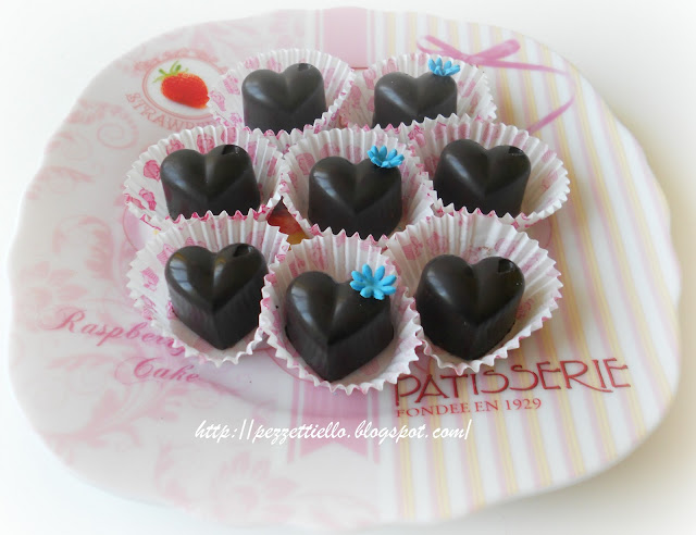 Cioccolatini con cuore di amarena
