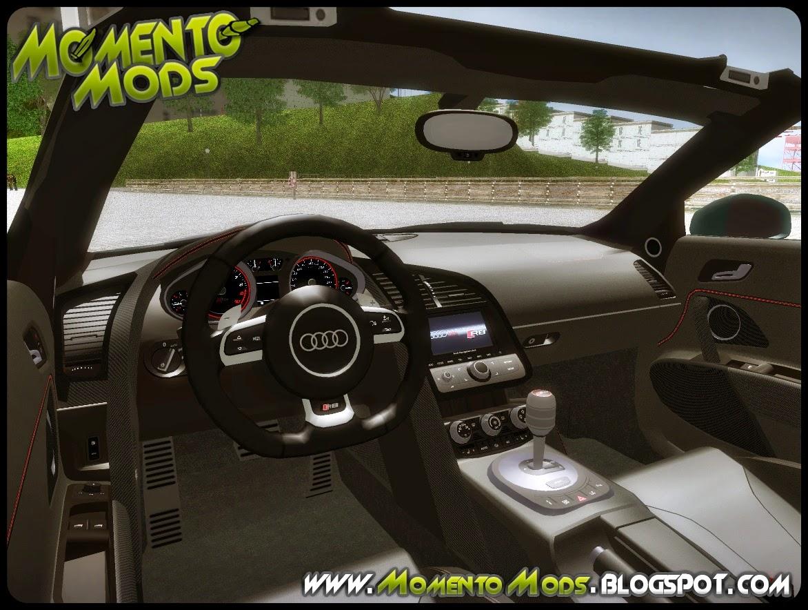 GTA SA - Audi R8 V10 Spyder 2014