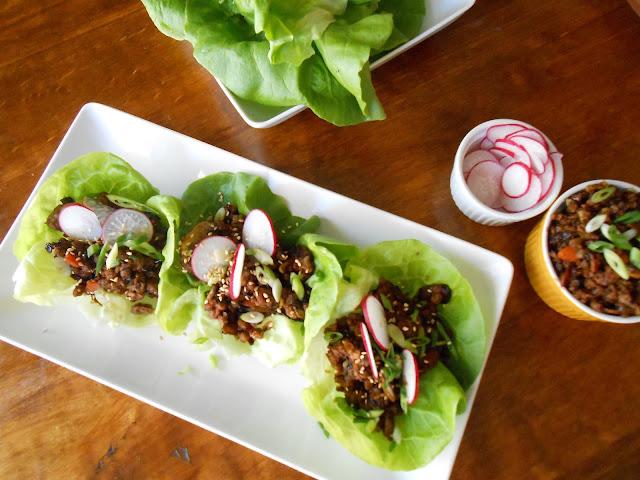 Hoisin Lettuce Wraps - Flora Foodie