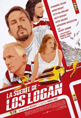 Logan Lucky 2017 DVD R1 NTSC Latino