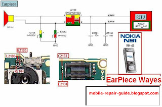 nokia n91 earpiece