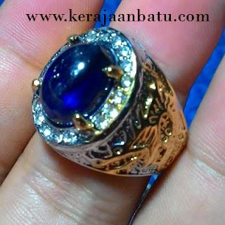 NATURAL BLUE SAPPHIRE CORUNDUM KODE KB301