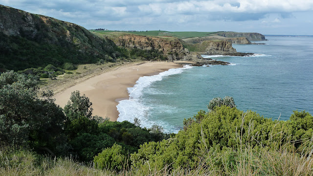 view of the coast along george bass coastal walk