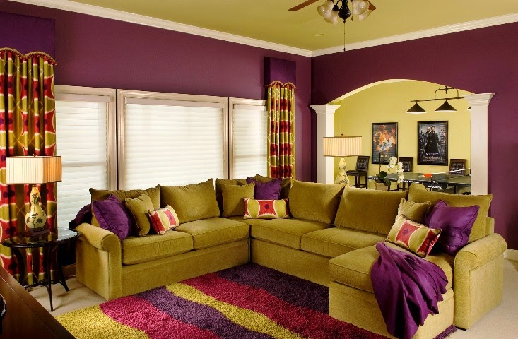 Wall paint colors matching - Living room paint colour ideas 2015 ...