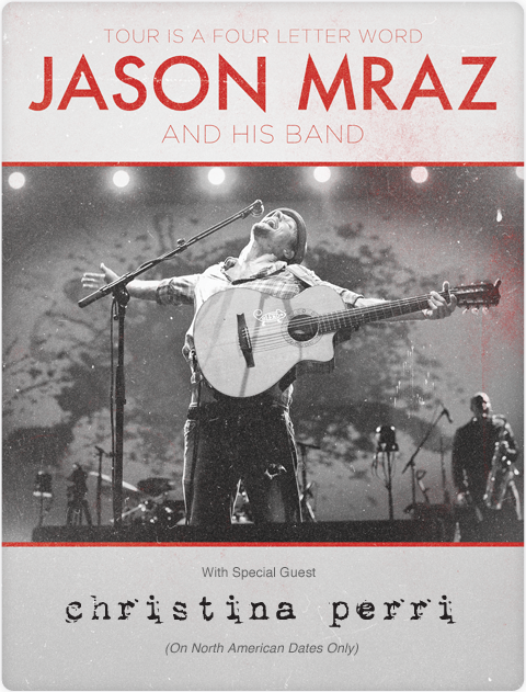Libepril Jason Mraz Tour Is A Four Letter World