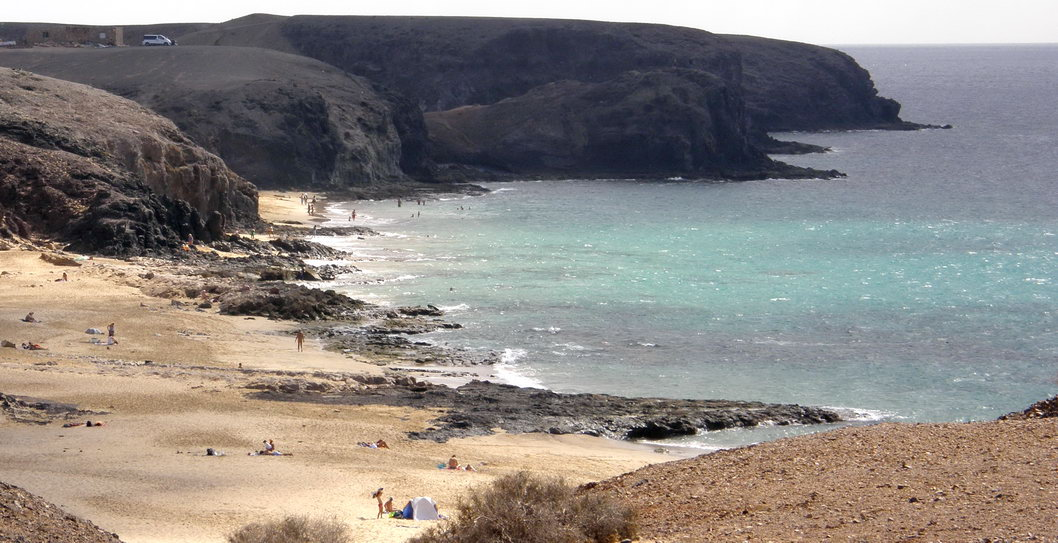 Papagayo nude beaches (Lanzarote)