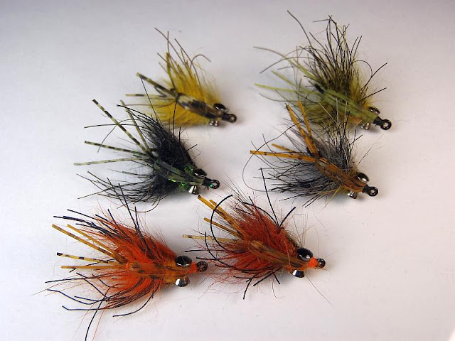 Carp-Stew carp flies in a variety of colors