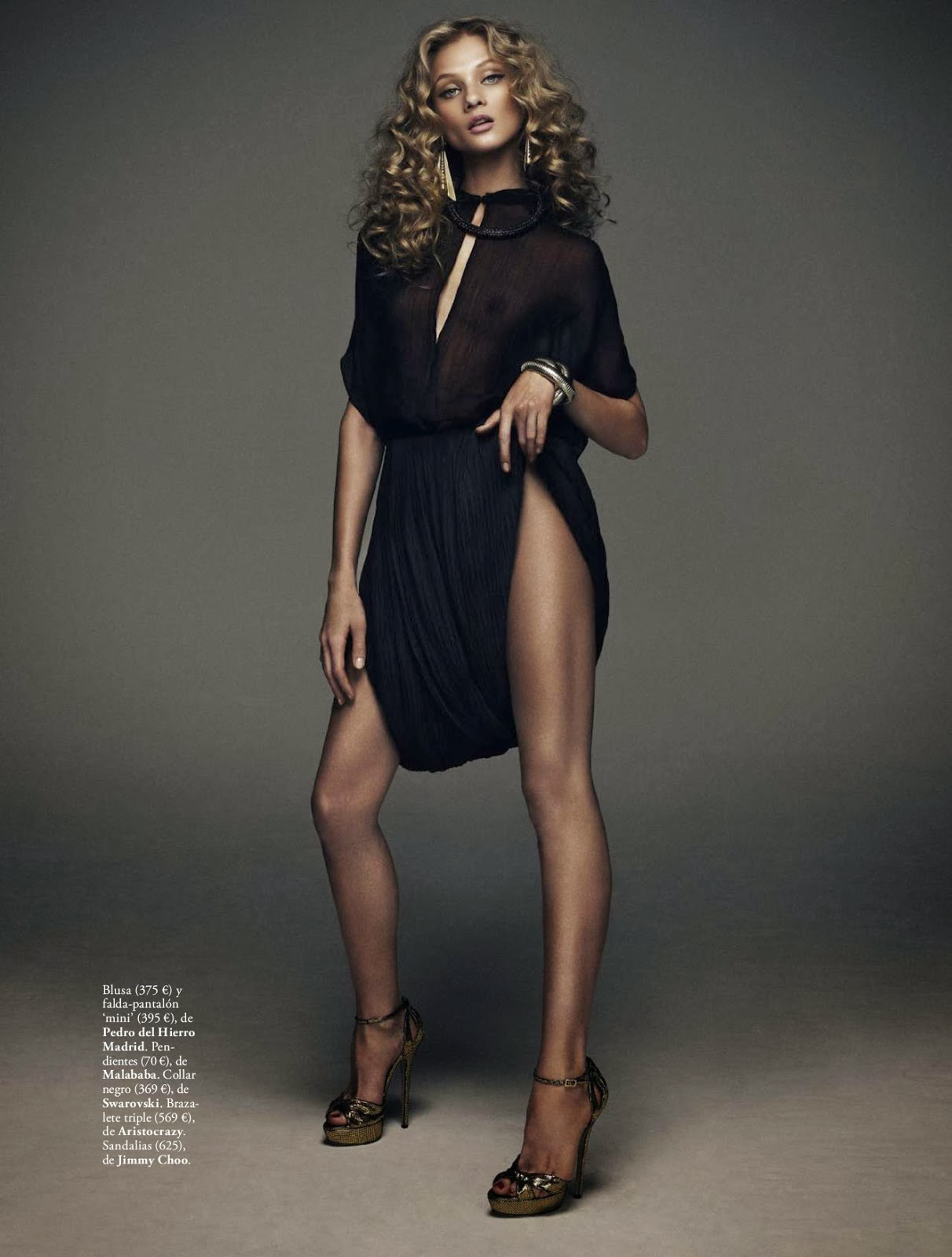 Magazine Scans, Latest wallpapers .Source : Anna Selezneva & Elle Magazine Spain