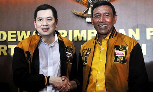 Hary Tanoe dan Wiranto : Cawapres dan Capres