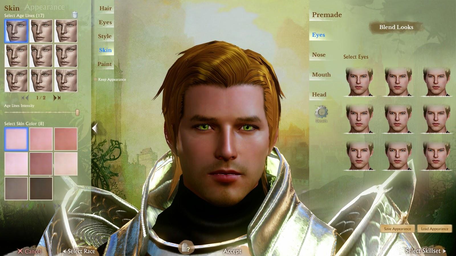 ArcheAge Character Creator