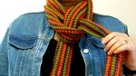 Make your scarf look pretty.