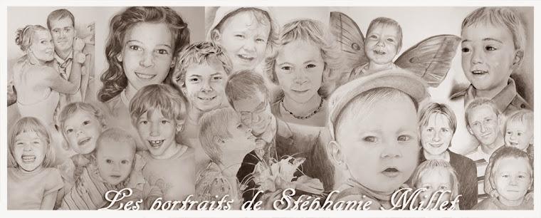 Les portraits de Stéphanie MILLET