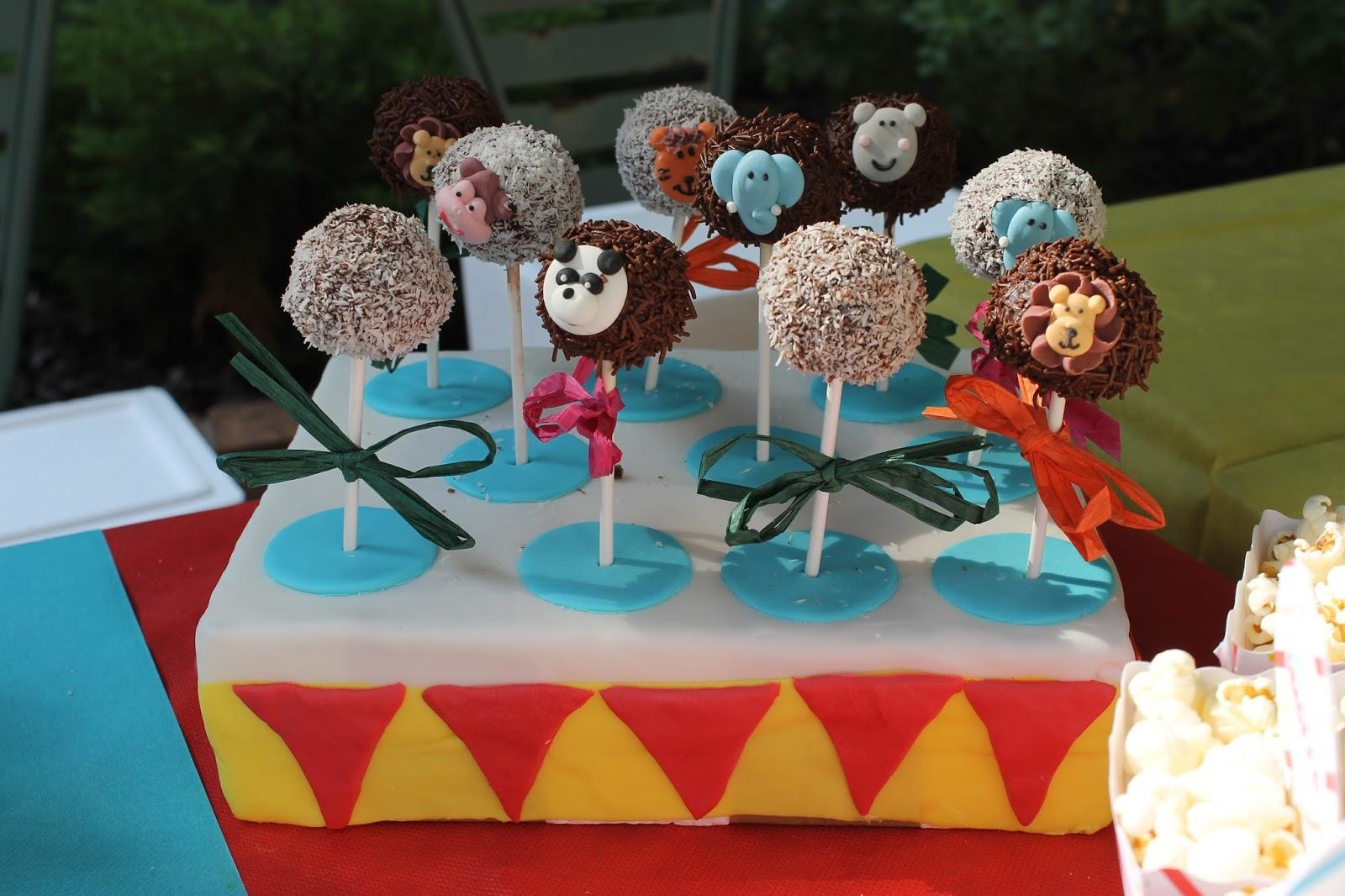 animal cake pop