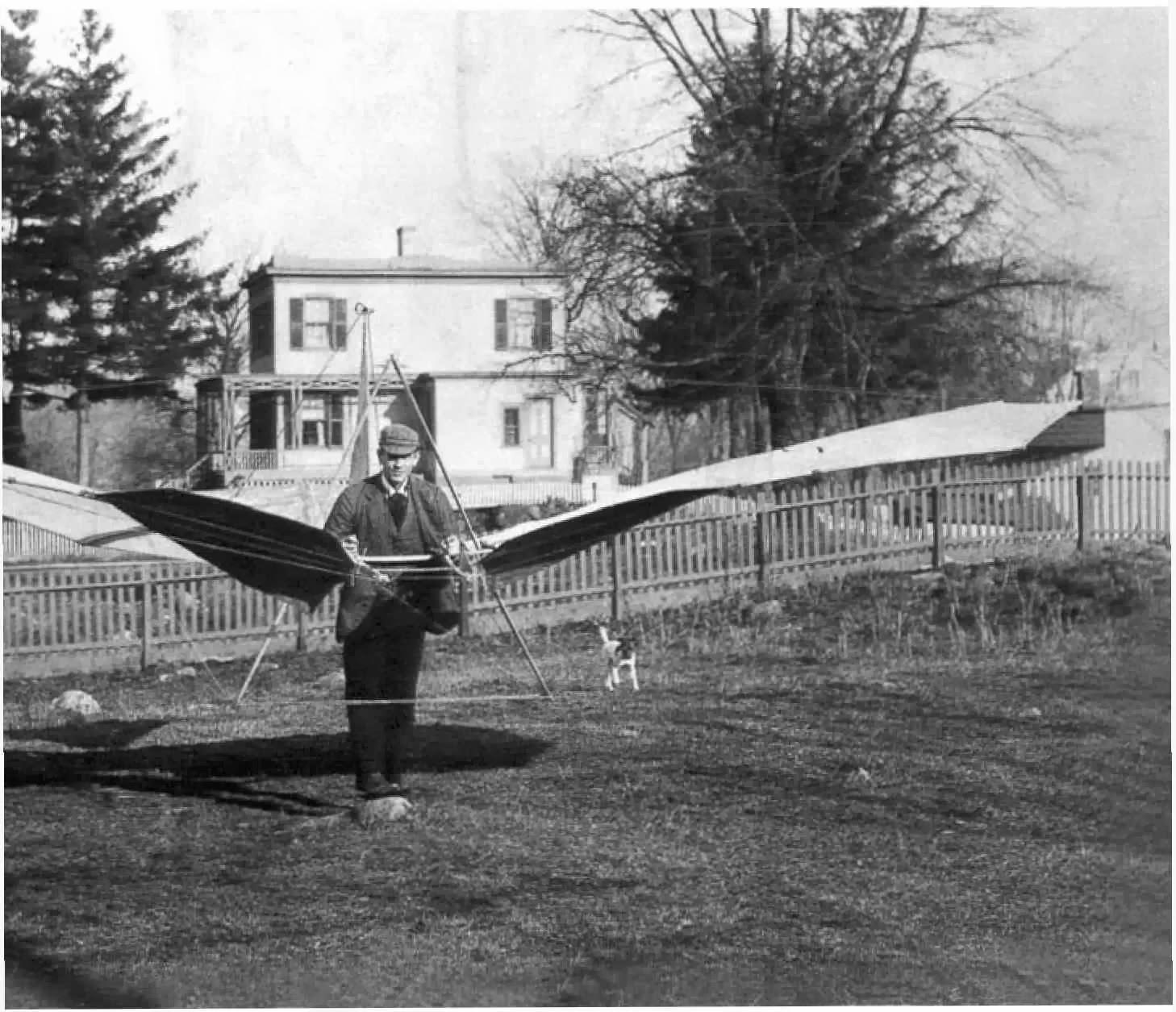 """Soaring Airplane 1894 """"Avión que planea"""" que nunca voló."""