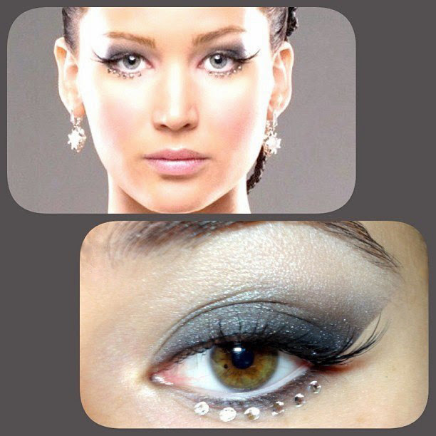 Katniss Everdeen Eye Makeup wedding