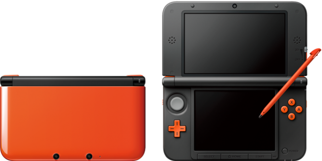 Nintendo 3DS LL Turquoise and Orange Leaked