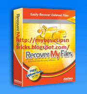 recover Delete lost missing files from USB Hard disk