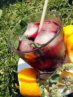 Karkade, agua de jamaica , hibiscus ice tea, hibiskus, malwa sudańska