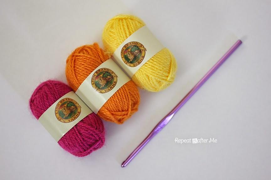 Crochet Butterfly Barefoot Sandals