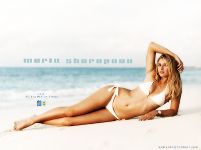 Maria Sharapova Latest Wallpapers
