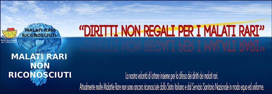 Diritti non Regali per i Malati Rari